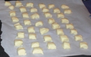 Gnocchi pieces ready for poaching